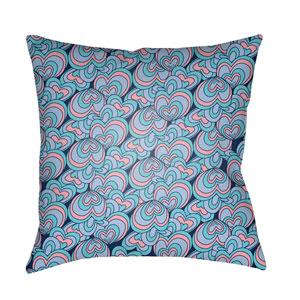 Carolina Coastal Multicolor 18 x 18-Inch Pillow