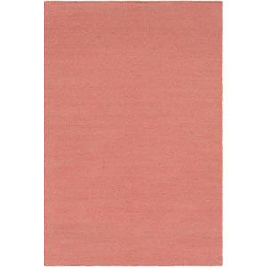 Charette Terracotta and Tan Rectangular: 8 Ft. x 10 Ft. Rug