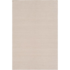 Charette Tan and Cream Rectangular: 5 Ft. x 7 Ft. 6 In. Rug