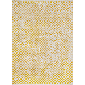 City Mustard Rectangular: 9 Ft. 3 In. x 12 Ft. 3 In. Rug