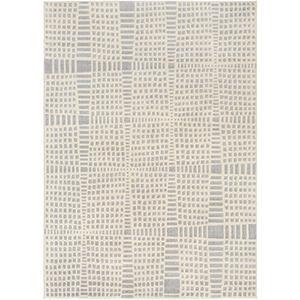 City Grey Rectangular: 7 Ft. 10 In. x 10 Ft. 3 In. Rug