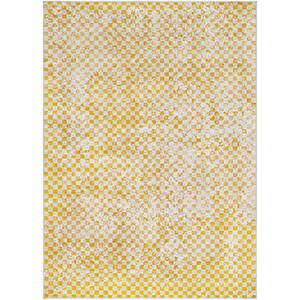 City Mustard Rectangular: 3 Ft. 11 In. x 5 Ft. 7 In. Rug