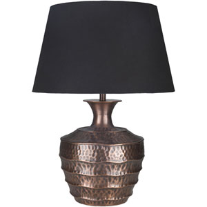 Carlisle Antiqued Copper Base Portable Lamp