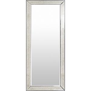 Calloway Silver Rectangular Mirror