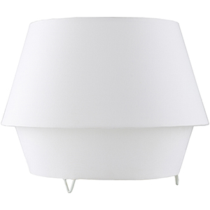 Campos White One-Light Table Lamp