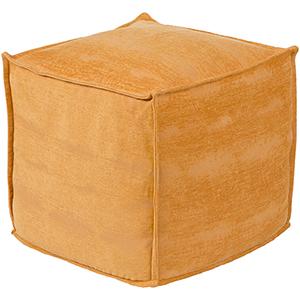 Copacetic Saffron Pouf