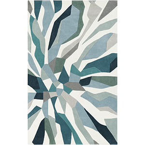Cosmopolitan Teal Rectangular: 8 Ft. x 11 Ft. Rug