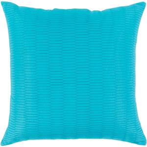 Caplin Blue 16 x 16-Inch Pillow