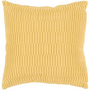 Caplin Yellow 16 x 16-Inch Pillow