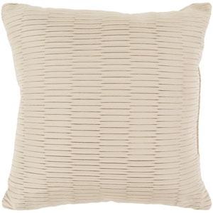 Caplin Neutral 16 x 16-Inch Pillow