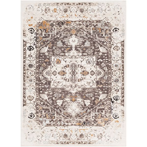 Crescendo Brown and Beige Rectangle: 9 Ft. x 13 Ft. 1 In.  Rug