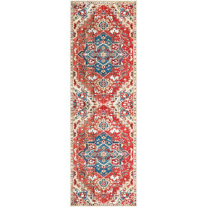 Crafty Orange Runner: 2 Ft. 6 In. x 7 Ft. 10 In. Rug