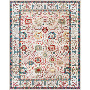 Crafty Orange Rectangle: 7 Ft. 10 In. x 9 Ft. 10 In. Rug
