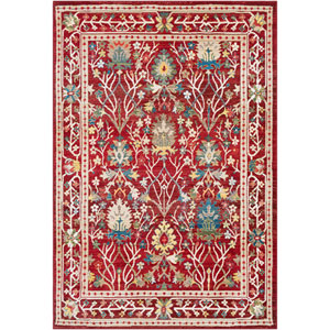 Crafty Red Rectangle: 9 Ft. x 12 Ft. 3 In. Rug