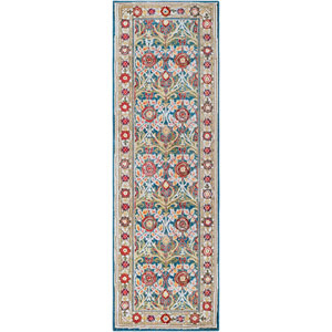 Crafty Blue Runner: 2 Ft. 6 In. x 7 Ft. 10 In. Rug