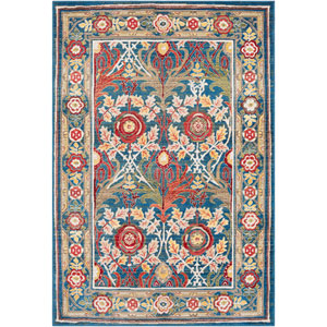 Crafty Blue Rectangle: 9 Ft. x 12 Ft. 3 In. Rug
