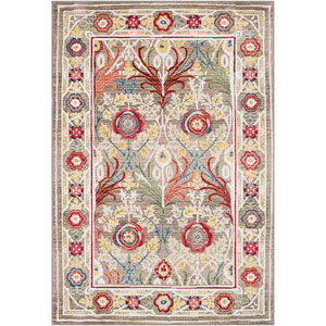 Crafty Khaki Rectangle: 5 Ft. 1 In. x 7 Ft. 4 In. Rug