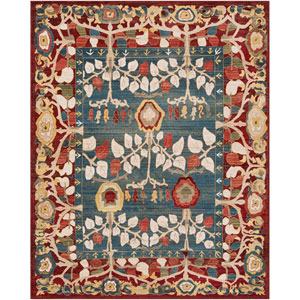 Crafty Red Rectangle: 7 Ft. 10 In. x 9 Ft. 10 In. Rug