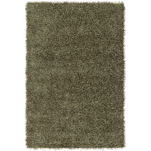 Croix Lime and Black Rectangular: 2 Ft x 3 Ft Rug
