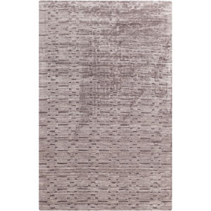 Crystal Gray and Charcoal Rectangular: 2 Ft x 3 Ft Rug