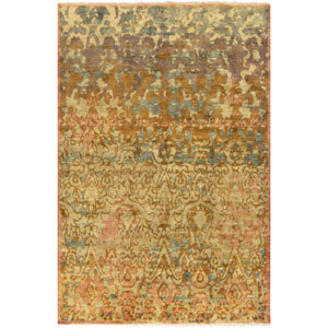 Cheshire Gold and Gray Rectangular: 2 Ft x 3 Ft Rug