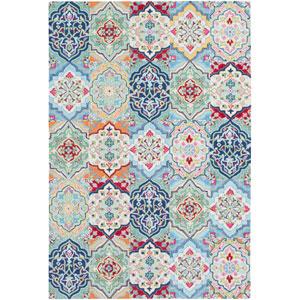 Castille Multicolor Rectangular: 2 Ft. x 3 Ft. Rug