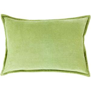 Cotton Velvet Olive 13 x 19 In. Throw Pillow