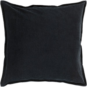 Ava Grace Charcoal 20-Inch Pillow with Poly Fill