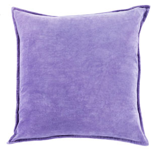 Ava Grace Iris 22-Inch Pillow with Poly Fill