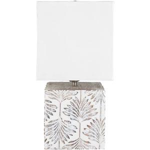 Dax White Portable Lamp
