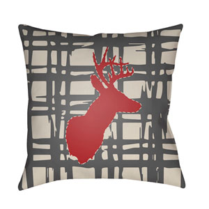 Deer Multicolor 20 x 20-Inch Throw Pillow