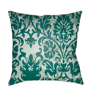 Moody Damask Multicolor 18 x 18-Inch Pillow