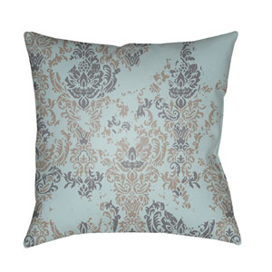 Moody Damask Multicolor 22 x 22-Inch Pillow