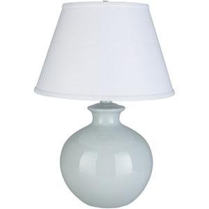 Delilah Light Blue Glazed Portable Lamp