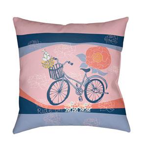 Doodle Multicolor 18 x 18-Inch Pillow