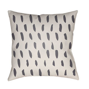 Spots Beige and Gray 18 x 18-Inch Throw Pillow