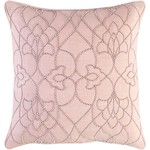 Dotted Pirouette Brown and Purple 20-Inch Pillow Cover