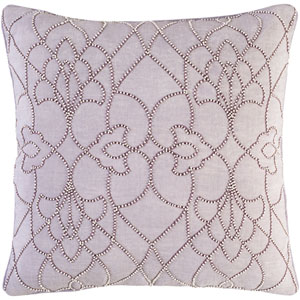 Dotted Pirouette Purple 18-Inch Pillow with Poly Fill