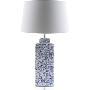 Dunaway White One-Light Table Lamp