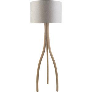 Duxbury Natural One-Light Floor Lamp