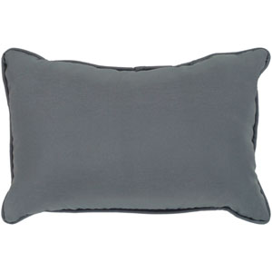 Essien Medium Gray 13 x 19 In. Throw Pillow