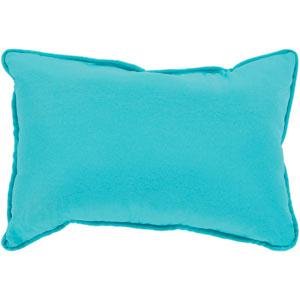 Essien Aqua 16 x 16 In. Throw Pillow