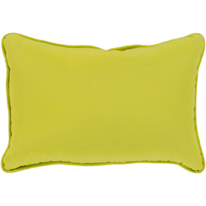 Essien Lime 13 x 19 In. Throw Pillow