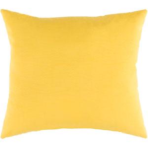 Essien Saffron 20 x 20 In. Throw Pillow
