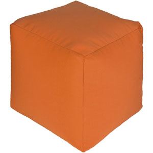 Essien Bright Orange Pouf
