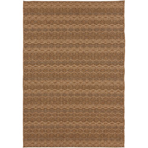 Elements Camel and Bronze Rectangular: 5 Ft. 3 In. x 7 Ft. 6 In. Rug
