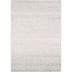 Elaziz White Runner: 2 Ft. 7 In. x 7 Ft. 6 In. Rug
