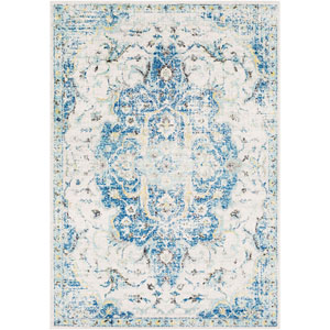 Elaziz Blue Rectangle: 7 Ft. 10 In. x 10 Ft. 3 In. Rug