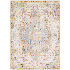 Elaziz Yellow Rectangle: 7 Ft. 10 In. x 10 Ft. 3 In. Rug