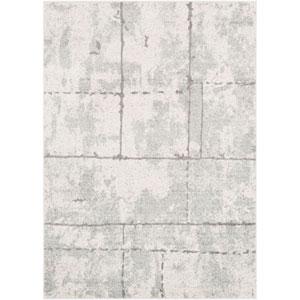 Elaziz Gray Rectangle: 2 Ft. x 3 Ft. Rug